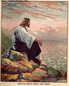 gentle jesus, meek & mild